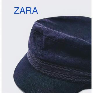 ザラ(ZARA)のキャスケット キャップ ZARA 帽子 M(キャスケット)