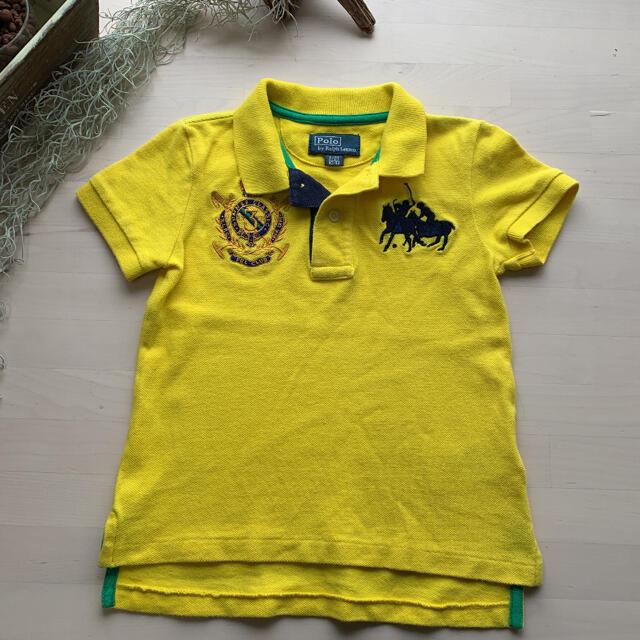POLO RALPH LAUREN(ポロラルフローレン)のPOLO RALPH LAUREN ポロシャツ キッズ  2T キッズ/ベビー/マタニティのキッズ服男の子用(90cm~)(Tシャツ/カットソー)の商品写真