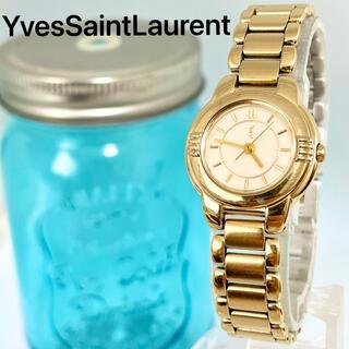 Saint Laurent - 39 イヴサンローラン時計 レディース腕時計 ゴールド 箱付き アンティーク