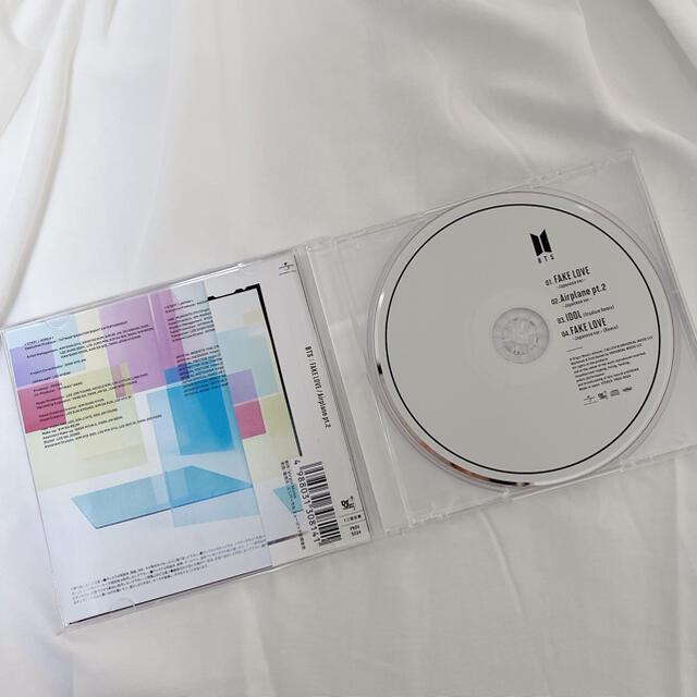 防弾少年団(BTS)(ボウダンショウネンダン)のBTS FAKE LOVE/Airplane pt.2 FC限定盤 エンタメ/ホビーのCD(K-POP/アジア)の商品写真