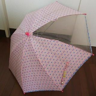 フェフェ(fafa)のフェフェ fafa 傘 キッズ傘 ピンクラビット 45センチ ピンク うさぎ(傘)