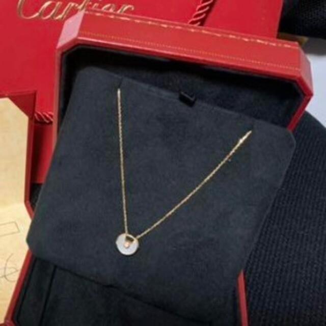 Cartier(カルティエ)のアミュレット ドゥ カルティエ ネックレス レディースのアクセサリー(ネックレス)の商品写真
