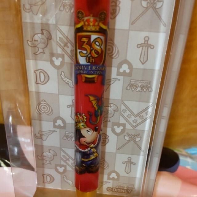 ディズニー 38周年  ボールペン インテリア/住まい/日用品の文房具(ペン/マーカー)の商品写真