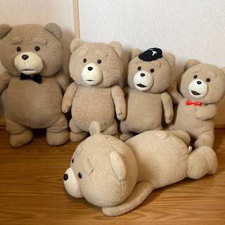 Tedのぬいぐるみ 5匹
