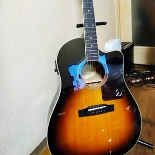 エピフォン(Epiphone)の【美品/調整済み】Epiphone AJ-220SCE/VS エピフォン エレア(アコースティックギター)