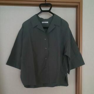 プラージュ(Plage)のplage プラージュ 2way オープンカラーシャツ(シャツ)