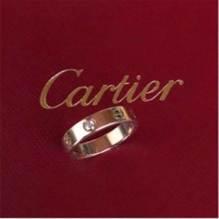 Cartier - カルティエリング ダイヤ ピンクゴールド