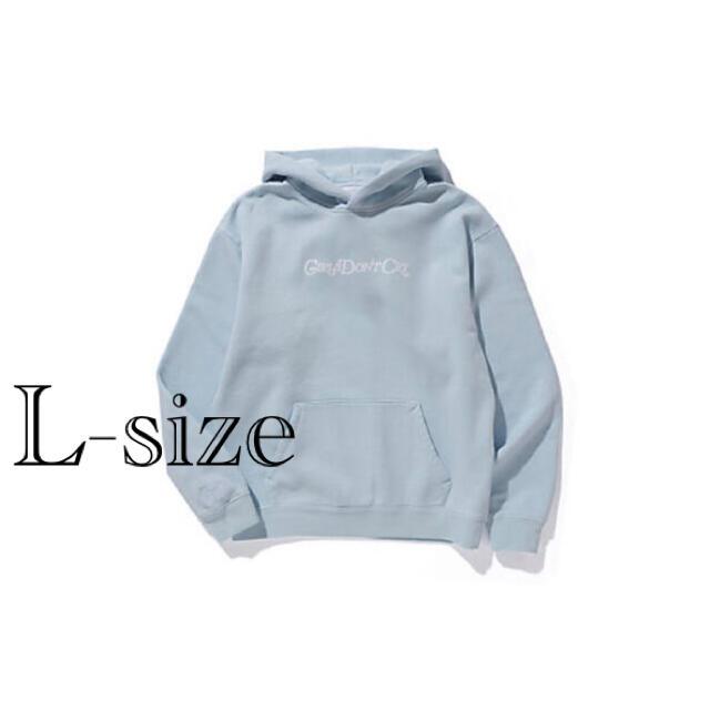 GDC(ジーディーシー)のsize L Girls don't cry angel hoodie  メンズのトップス(パーカー)の商品写真