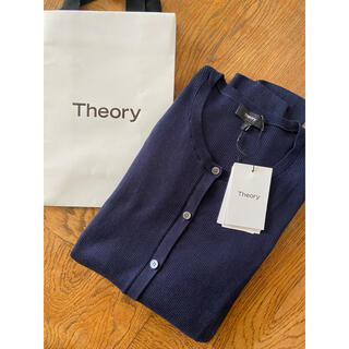 Theory luxe - 本日限定セール!セオリー 新品 クルー カーディガン ネイビー