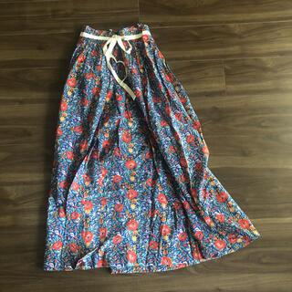 TOMORROWLAND - SOULEIADO ロングスカート フラワー プリント 花柄