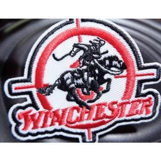 新品ウィンチェスターWinchesterカウボーイ刺繍ワッペン(パッチ)アメリカ(その他)