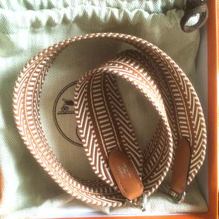 Hermes - エルメス バンドリエール カヴァル  シルバー金具 70サイズ