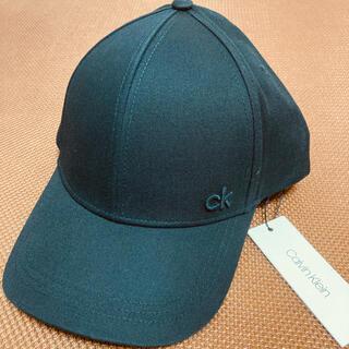 Calvin Klein - ★新品 Calvin Klein カルバンクライン シンプル キャップ 黒 帽子