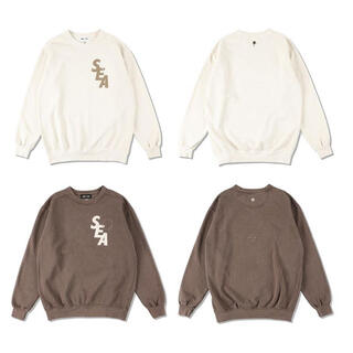 wind and sea crew neck  SOIL (CS-262)