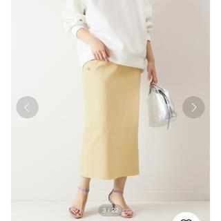 【新品】スピック&スパン♡ オックスボタンタイトスカート
