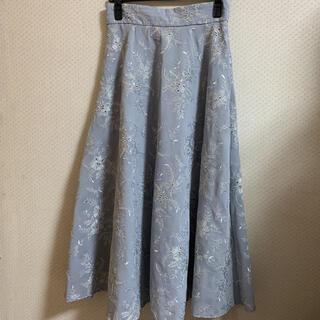 JILLSTUART - ジルスチュアート ミシェル刺繍ロングスカート