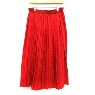 Drawer - ドゥロワー Drawer 18AW スカート プリーツ ロング 40 L