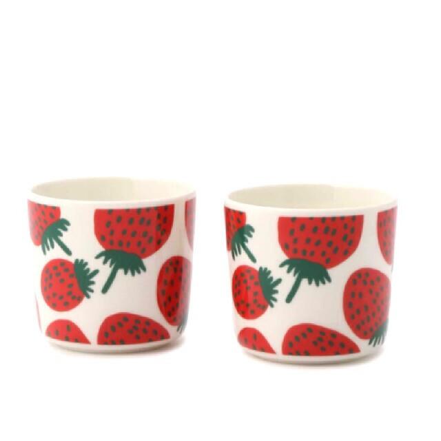 marimekko(マリメッコ)の新品 マリメッコ コーヒーカップ コップ ラテマグ マグカップ  インテリア/住まい/日用品のキッチン/食器(グラス/カップ)の商品写真