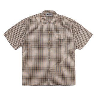 エルエルビーン(L.L.Bean)の90s ビッチスケートボーディング チェック半袖シャツ(シャツ)
