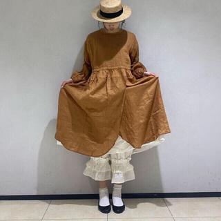 SM2 - 【新品未使用】立川限定♪二枚重ね風ワンピース♪オレンジ