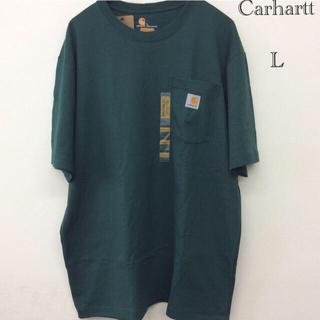 carhartt - カーハート t-シャツ K87 Carhartt t-シャツ L Green
