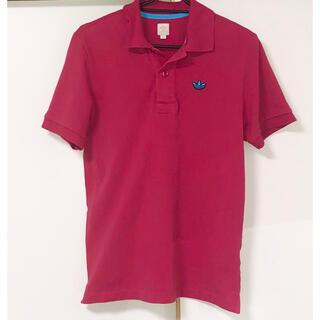 アディダス(adidas)のSALE❣️adidas  トレフォイルロゴ ポロシャツ ピンク(ポロシャツ)