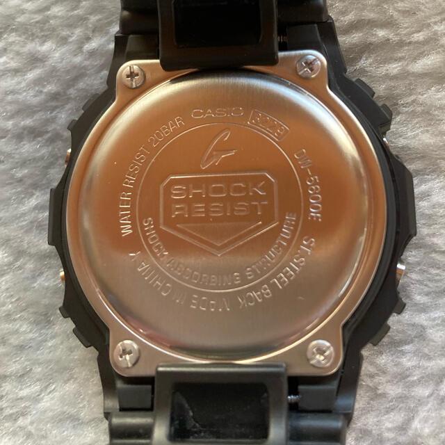 G-SHOCK(ジーショック)のCASIO G-SHOCK DW-5600E-1V スピードモデル メンズの時計(腕時計(デジタル))の商品写真