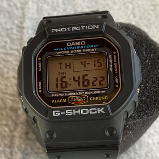 G-SHOCK - CASIO G-SHOCK DW-5600E-1V スピードモデル