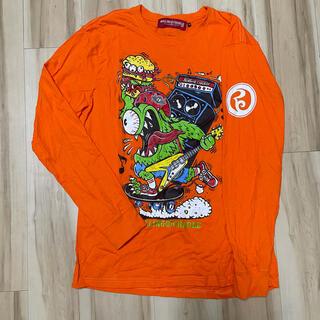 ローリングクレイドル(ROLLING CRADLE)のROLLING CLADLE ロリクレ ロンT オレンジ XL(Tシャツ/カットソー(七分/長袖))