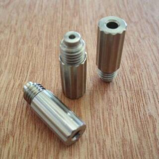 エステーデュポン(S.T. Dupont)のデュポンライター用ガスアダプタ/金、黄/ライン2(タバコグッズ)