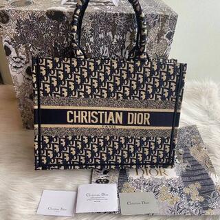 Christian Dior - Diorディオールブックトート ネイビー トートバッグ