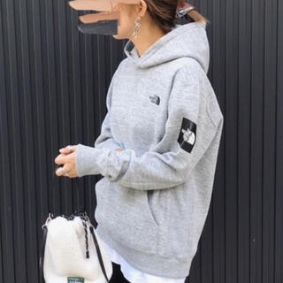 THE NORTH FACE - 【THE NORTH FACE】Square Logo Hoodie パーカー