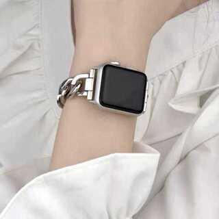Apple Watch チェーンベルト 38mm/40mm シルバー