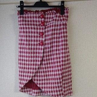 リズリサ(LIZ LISA)のチェック柄スカート(ひざ丈スカート)