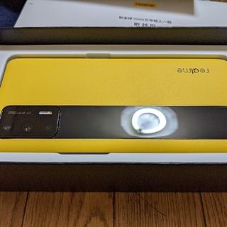 アンドロイド(ANDROID)の【SIMフリー】realme GT 5G 中国版 12/256GB イエロー(スマートフォン本体)