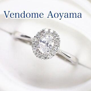 Vendome Aoyama - ヴァンドームアオヤマ オーバルカット ダイヤ 0.24ct Pt950 リング