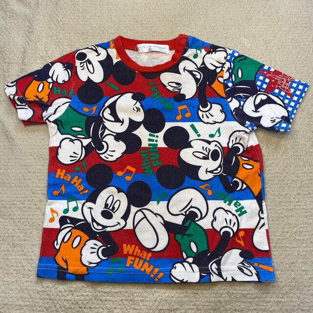 Disney(ディズニー)の【Rio様専用】ミッキーTシャツ キッズ/ベビー/マタニティのキッズ服男の子用(90cm~)(Tシャツ/カットソー)の商品写真