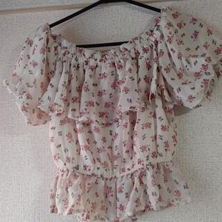 リズリサ(LIZ LISA)の花柄ブラウス(シャツ/ブラウス(半袖/袖なし))