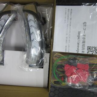 プリウス30・α・クラウン・カムリ等 流れるドアミラーウィンカー 白LED