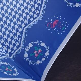 折りたたみ傘 ブルー(傘)
