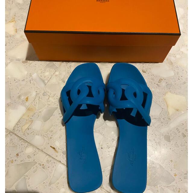 Hermes(エルメス)のエルメス アロハサンダル 37 レディースの靴/シューズ(サンダル)の商品写真