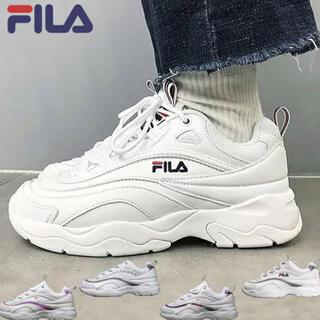FILA - 新品 フィラ FILA ダッド スニーカー 24cm ホワイト