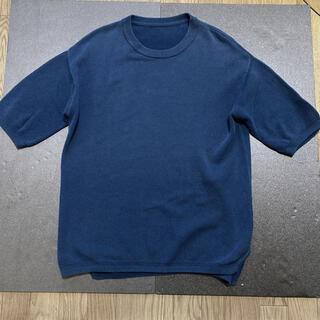 ヤエカ(YAECA)のcrepuscule(クレプスキュール) | MOSS STITCH S/S (Tシャツ/カットソー(半袖/袖なし))