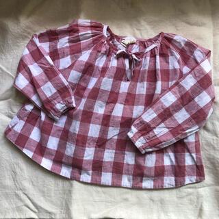 コドモビームス(こども ビームス)のlittle cotton clothes リトルコットン ブラウス6-7(ブラウス)