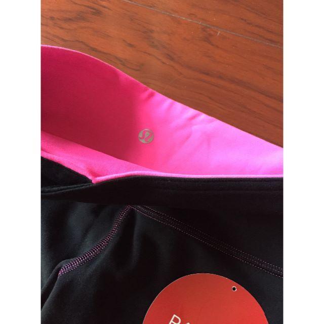 lululemon(ルルレモン)のルルレモン リバーシブルパンツ サイズ6 クロップ丈 美品 レディースのパンツ(クロップドパンツ)の商品写真