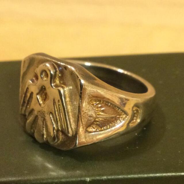 goro's(ゴローズ)のゴローズ イーグル印台リング 17号 メンズのアクセサリー(リング(指輪))の商品写真