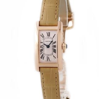 Cartier - カルティエ  タンクアメリカン SM W2606436 手巻き レディー