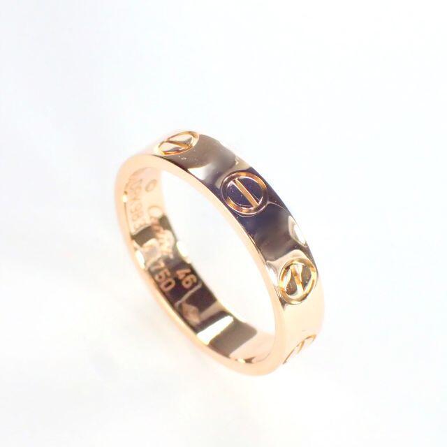 Cartier(カルティエ)のカルティエ Cartier K18PG ラブリング PG 46号 レディースのアクセサリー(リング(指輪))の商品写真