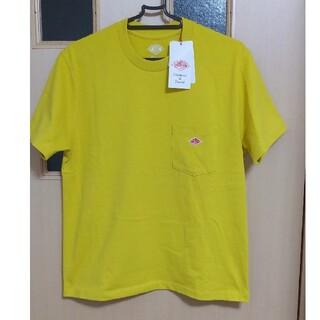 DANTON - 新品 DANTON クルーネック  ポケットTシャツ イエロー