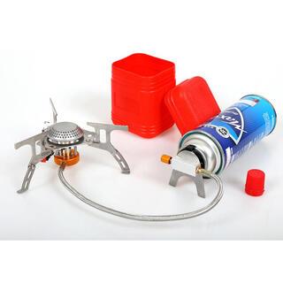 シングルバーナー バーベキューコンロ ストーブ キャンプ CB缶対応 圧電点火